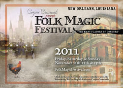 Folk Magic Festival 2011 Postcard